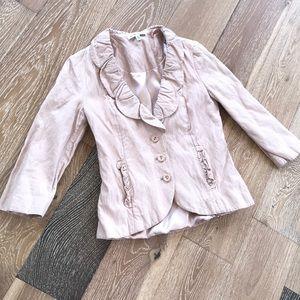 CAbi Blush Pink Petal Jacket